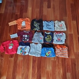 Other - Long sleeve 12 month boy onsies